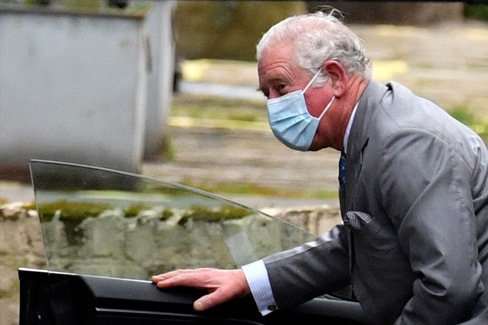Große Sorge um Prinz Philip: Charles trotz Besuchsverbot bei seinem Vater