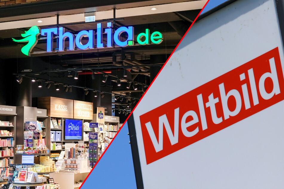 Weltbild richtet sein Angebot neu aus und setze stärker auf digitale Angebote. Thalia gewinnt mit dem Zukauf der Filialen Präsenz in neuen Städten.