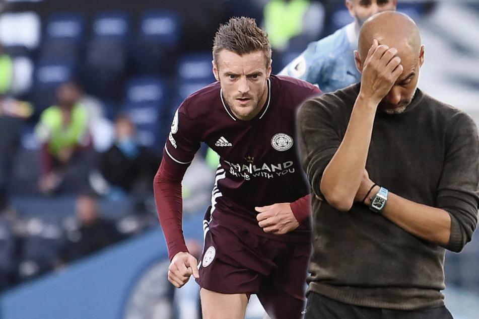 Vardy zerlegt Pep historisch: Leicester schießt ManCity aus eigenem Stadion!
