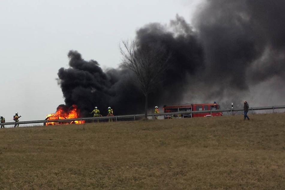 Offenbar hatte ein technischer Defekt das Feuer ausgelöst.