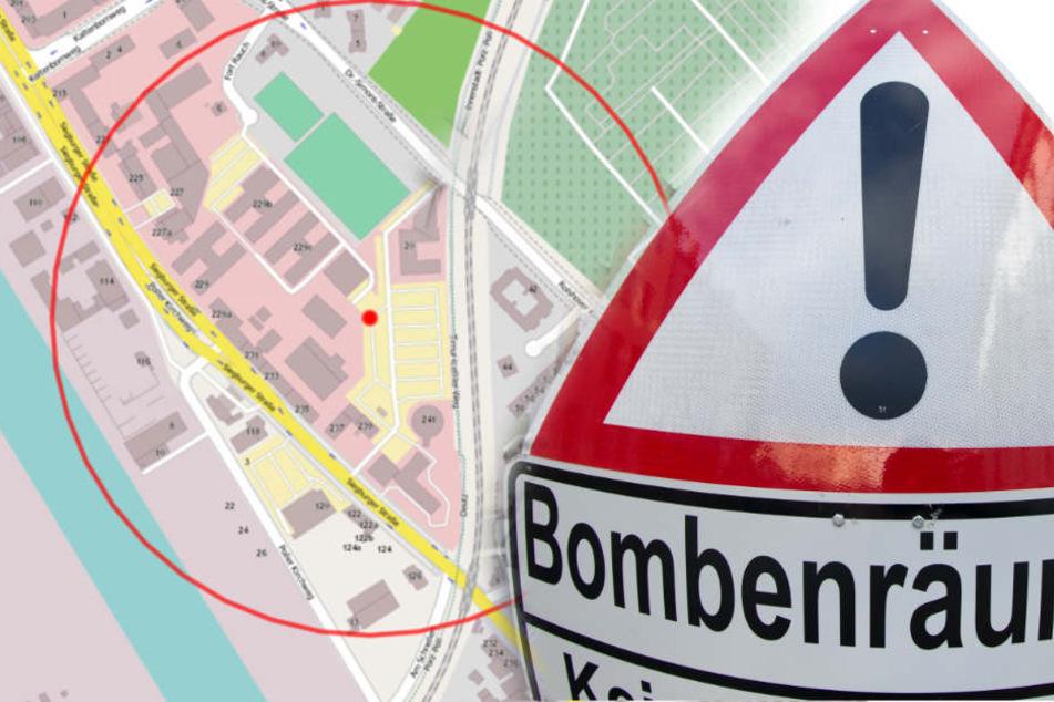 Bombe in Deutz erfolgreich entschärft
