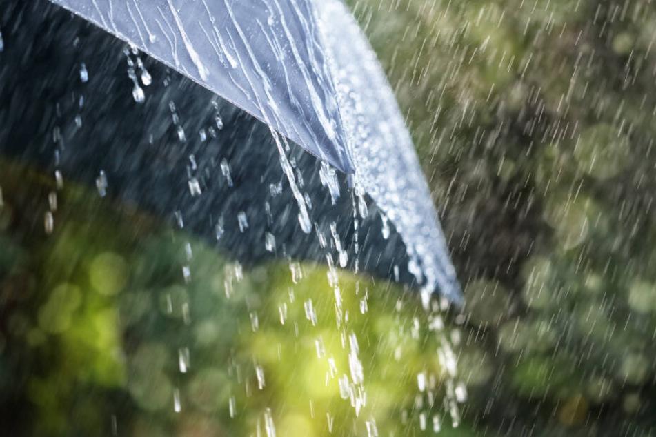 Trotz Gewitter soll es warm bleiben (Symbolfoto).