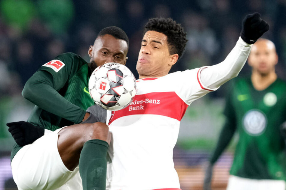 Im Zweikampf mit Wolfsburgs Josuha Guilavogui am 16. Spieltag: VfB-Spielmacher Daniel Didavi.