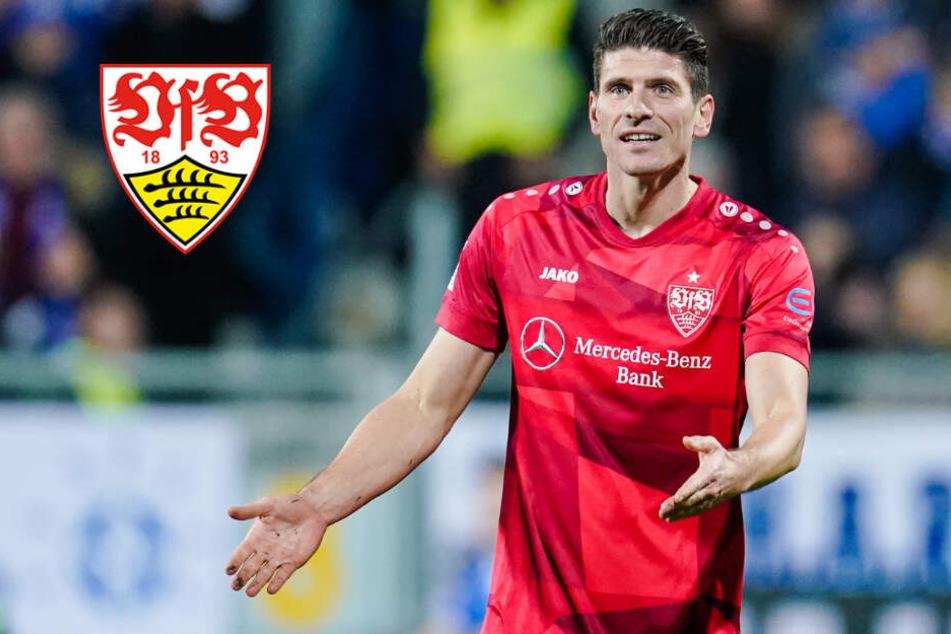 Wieder Fehlstart, Gomez-Abseits und Hektik: VfB spielt nur Remis in Darmstadt