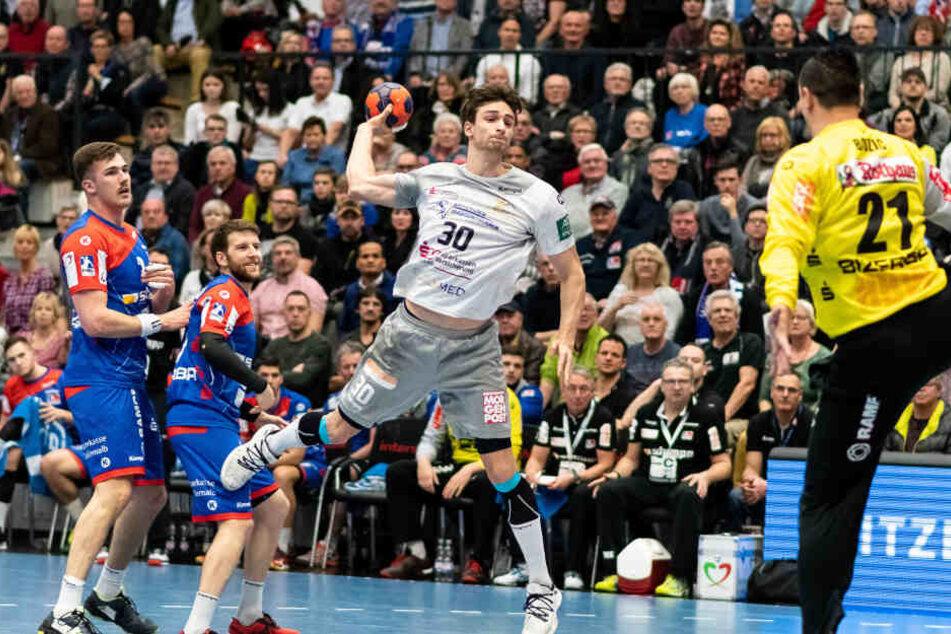 Adrian Kammlodt erzielte bei 23:30-Niederlage in Balingen vier Tore.
