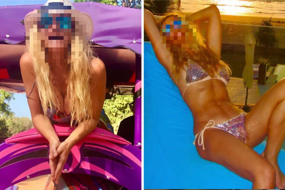 Oh la la! Welche TV-Schönheit zeigt sich denn hier mit perfekter Bikini-Figur?
