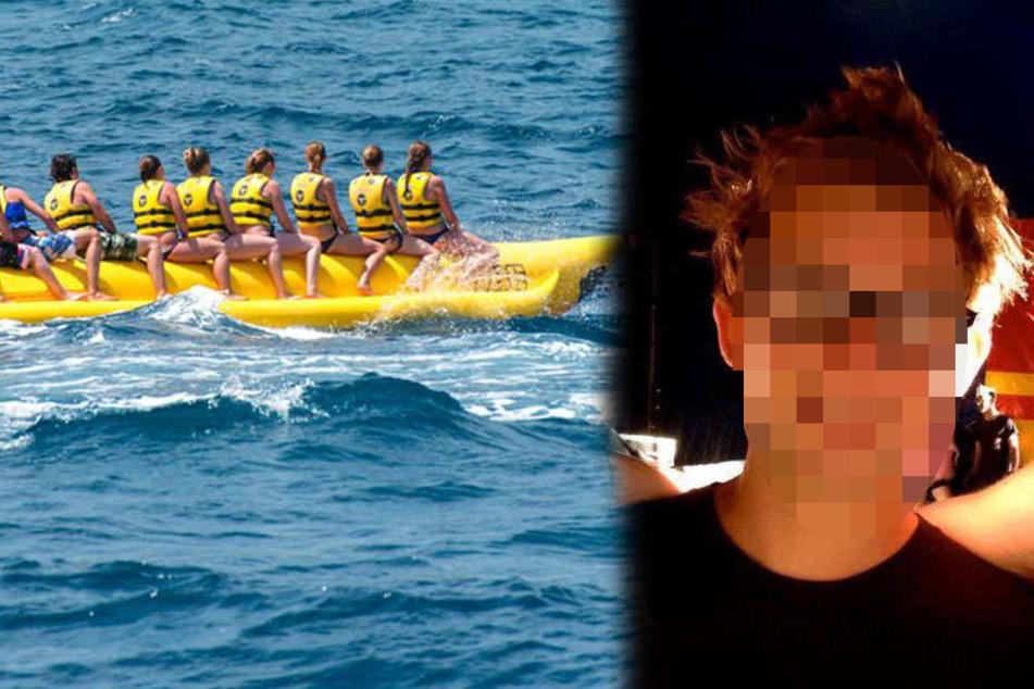 Mann (29) fährt mit Bananen-Boot, dann verschwindet er plötzlich