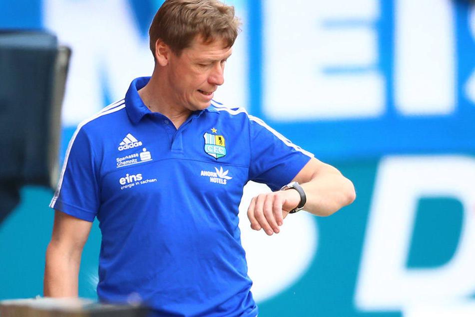 Die Zeit als CFC-Trainer läuft für Sven Köhler offenbar ab.