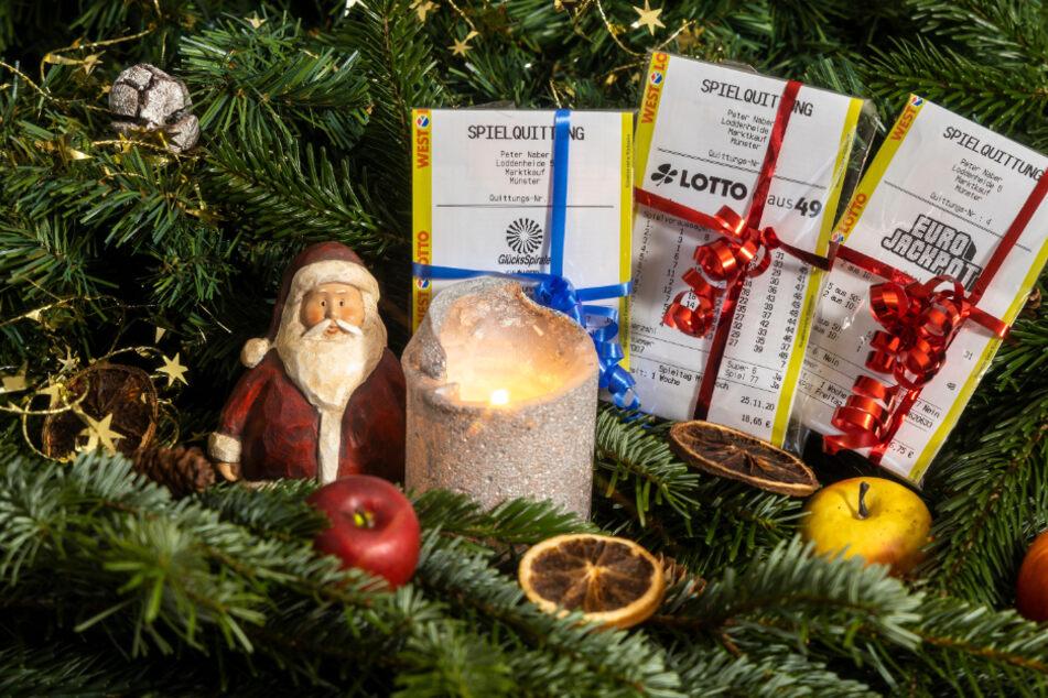 Vier neue Millionäre in NRW: Lotto-Jackpot über Weihnachten geknackt