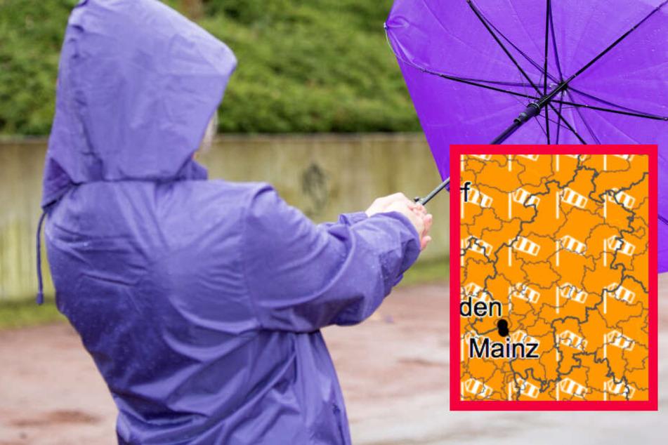 Unwetterwarnung Frankfurt