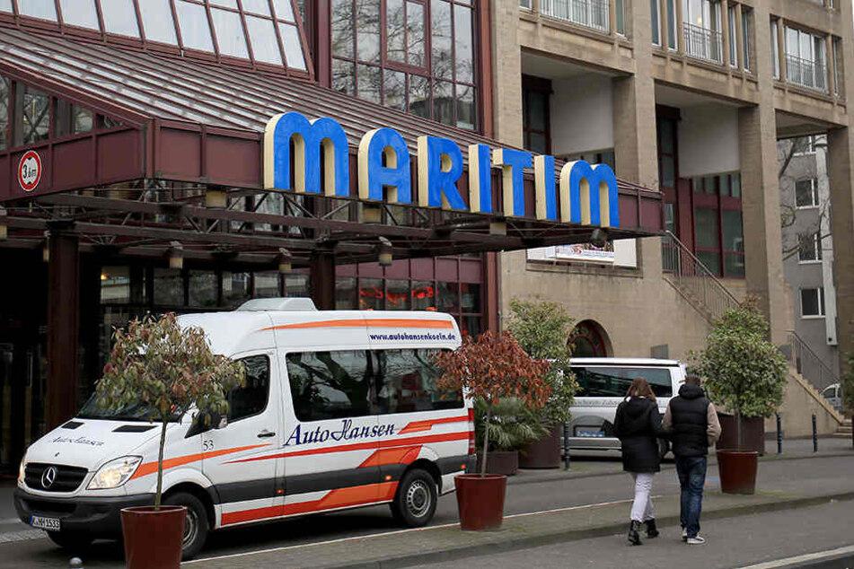 In diesem Maritim-Hotel findet der AfD-Parteitag statt.