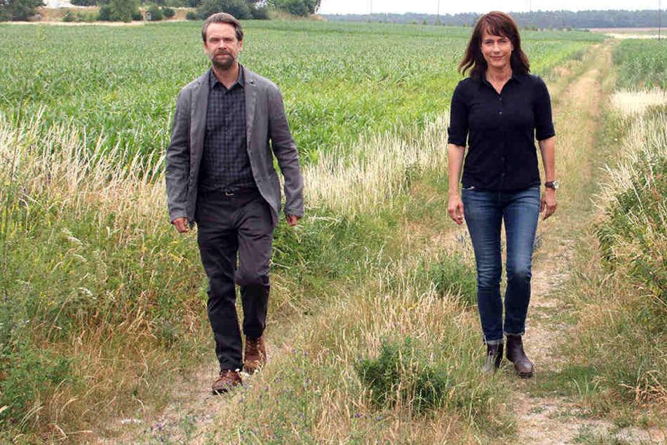 Lange werden die Kommissare Dirk Köhler (Matthias Matschke) und Claudia Michelsen (Doreen Brasch) nicht mehr gemeinsam Fälle lösen.