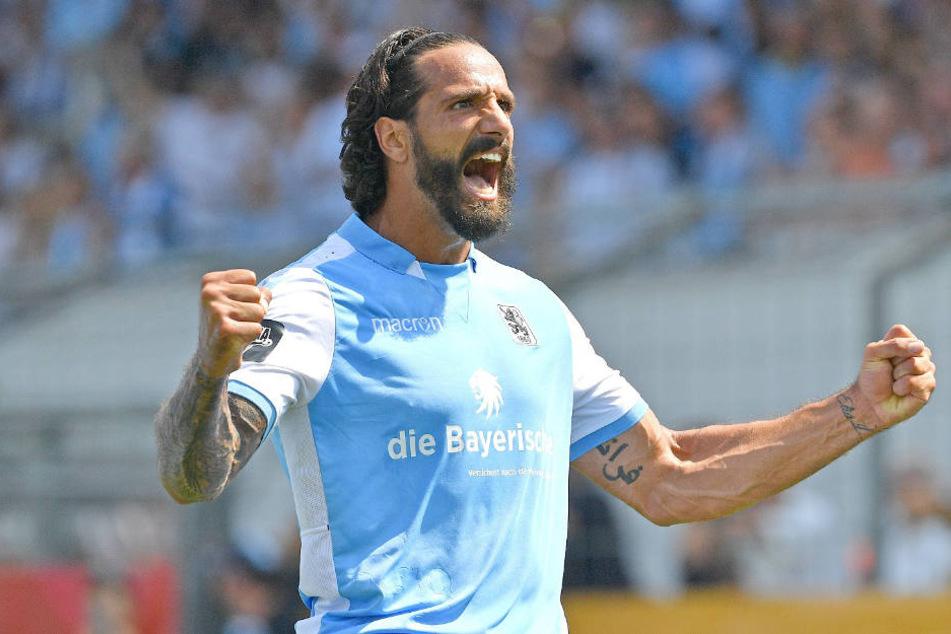 Adriano Grimaldi (27) feierte mit den Löwen einen klaren Heimsieg.