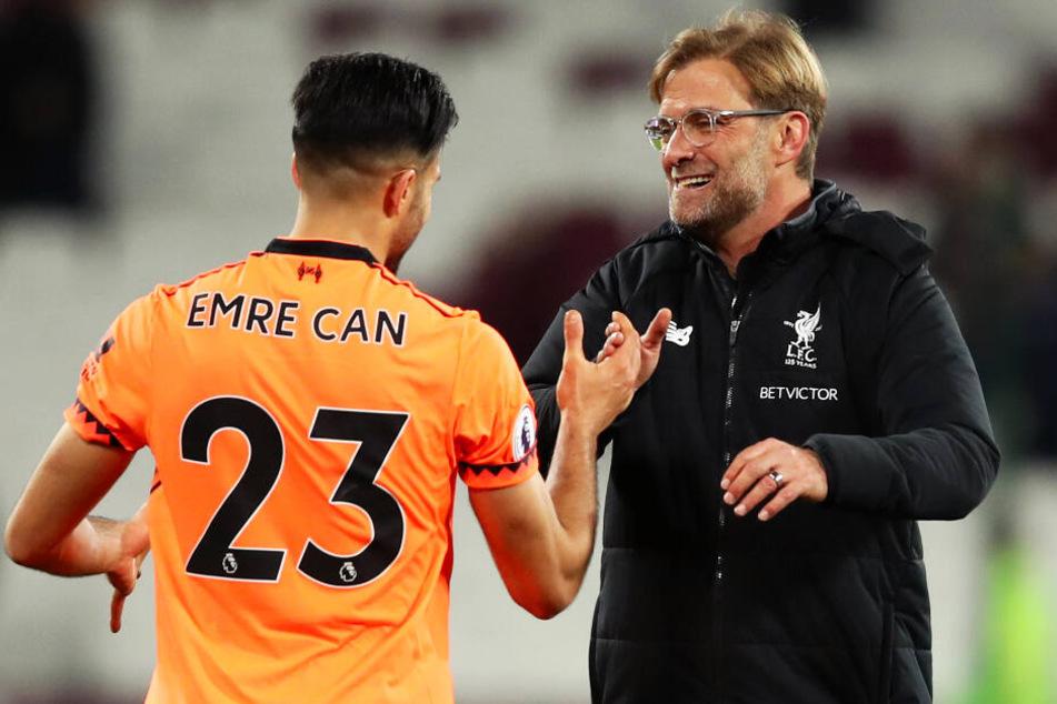 Emre Can stand vier Jahre beim FC Liverpool unter Vertrag. Unter Coach Jürgen Klopp war er Stammspieler.