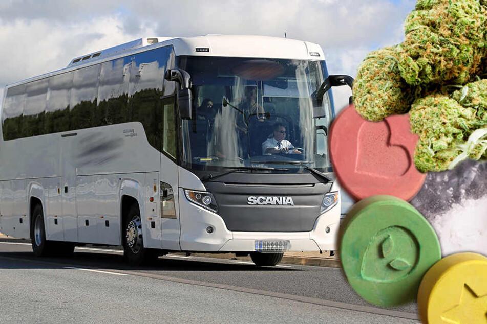 Crack, Ectasy, Kokain & Co.: Reisebus auf der A8 aus dem Verkehr gezogen!