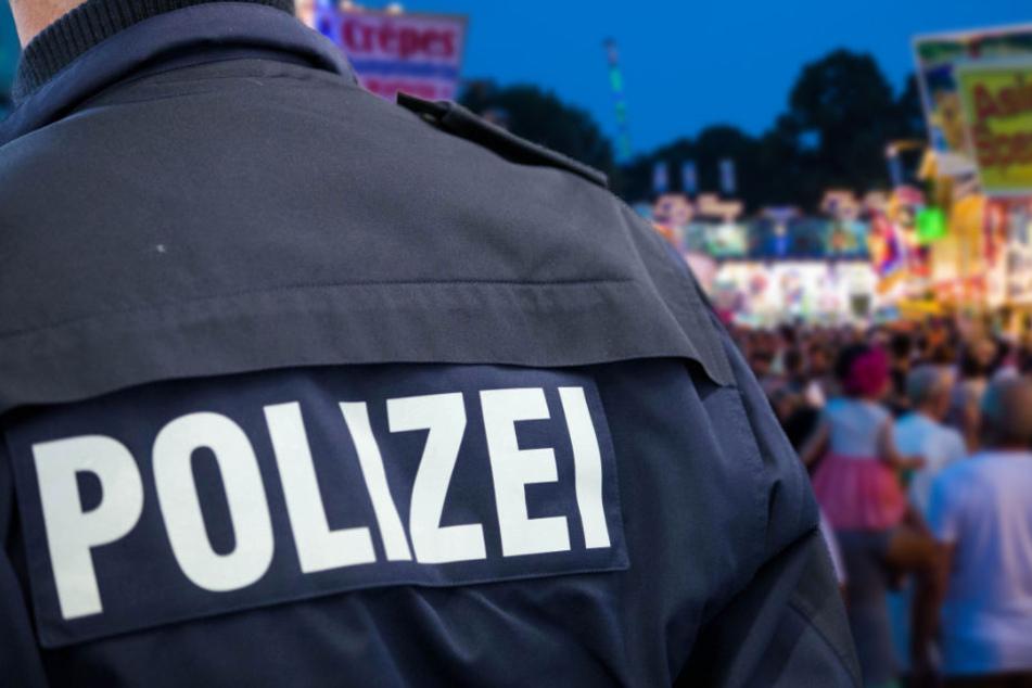 Eine Fahndung nach dem Täter am Rande des Volksfestes blieb ohne Erfolg. (Symbolbild)