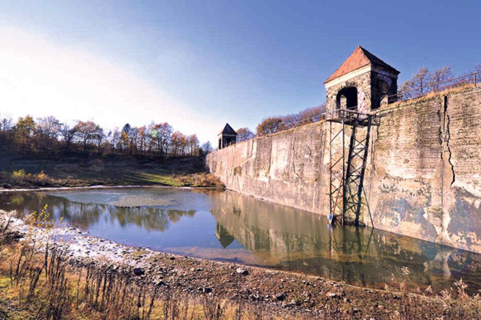 Wie weiter mit der Talsperre Euba? Ein neuer Stadtratsbeschluss soll jetzt wieder Leben in das Areal bringen.