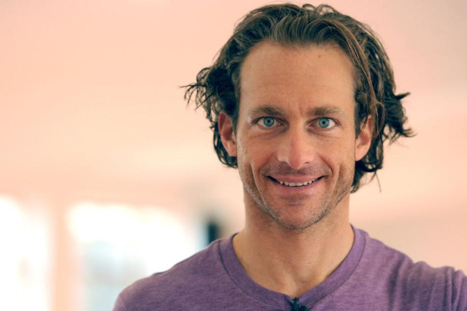 """""""Ich versuche, an jedem Tag positiv damit zu leben"""", nimmt Tim Lobinger (46) den Kampf gegen den Krebs auf."""