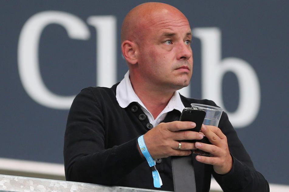Jörg Schade vom FSV Zwickau kann aufatmen.