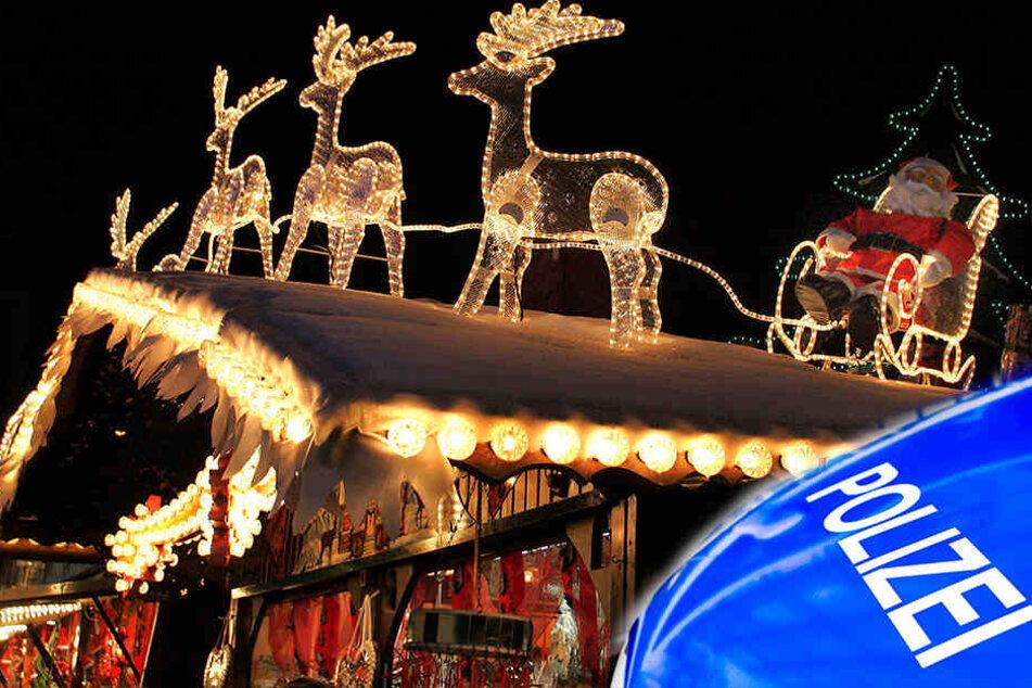 Auf einem Weihnachtsmarkt in Wittichenau kam es zu einer Schlägerei.