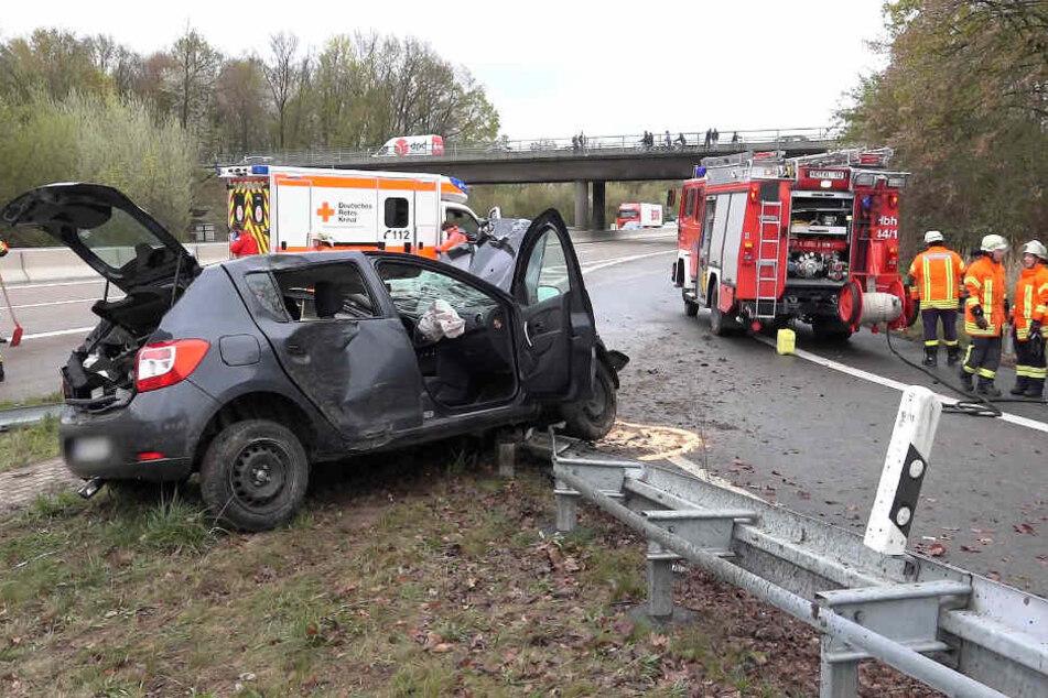 Noch ist unklar, warum sich das Fahrzeug überschlug.