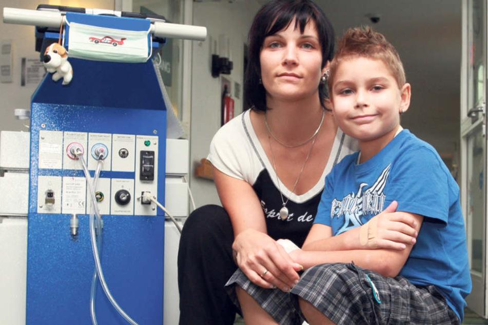 Tapfer ertrug der junge Maurice die Zeit im Krankenhaus, als ihn ein Kunstherz am Leben hielt.