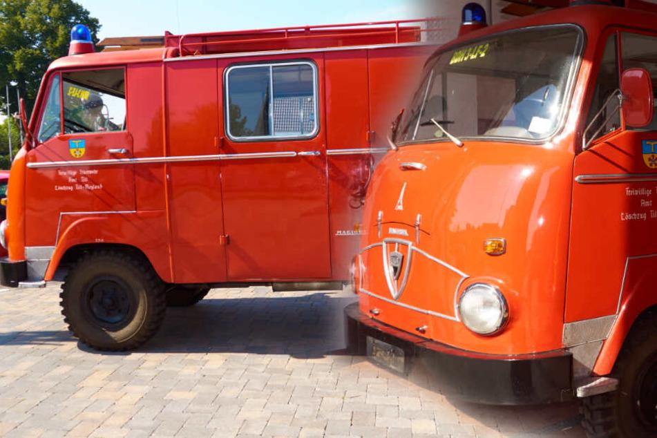 Wahnsinn: 56 Jahre im Dienst, bald löscht dieses Auto in Ägypten weiter!