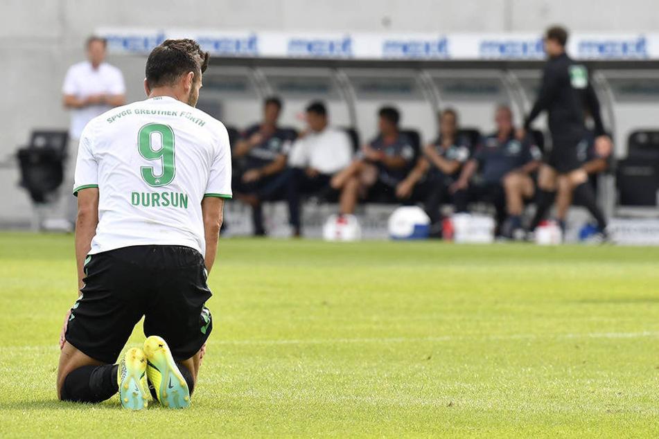 Serdar Dursun war durch seinen verschuldeten Elfmeter der Pechvogel der ersten Hälfte.