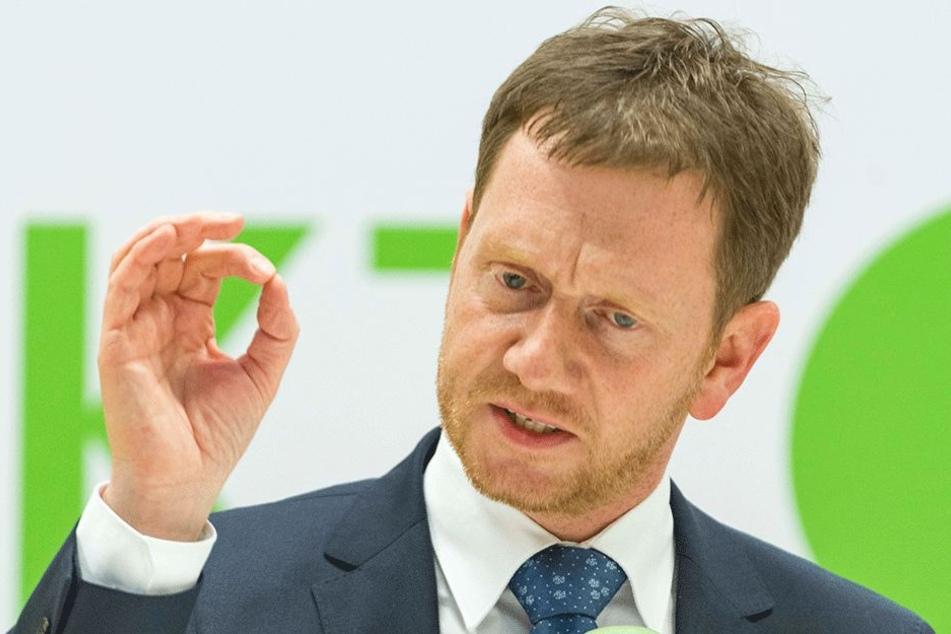 Ministerpräsident Michael Kretschmer (42, CDU) will die Ärzteausbildung in Chemnitz ankurbeln.