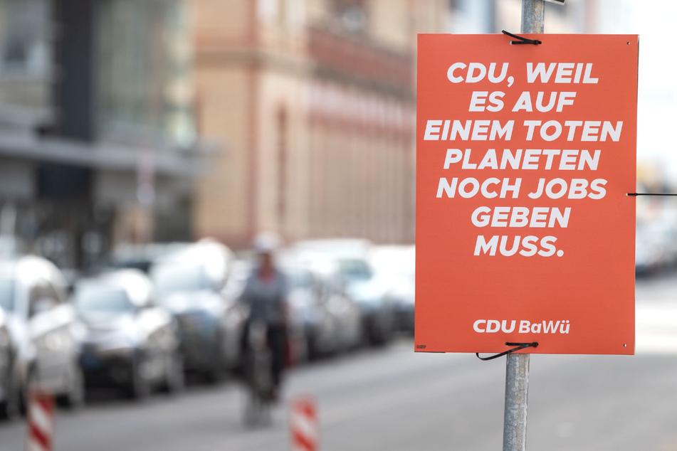 Klimaaktivisten fälschen CDU-Wahlplakate mit dreisten Sprüchen