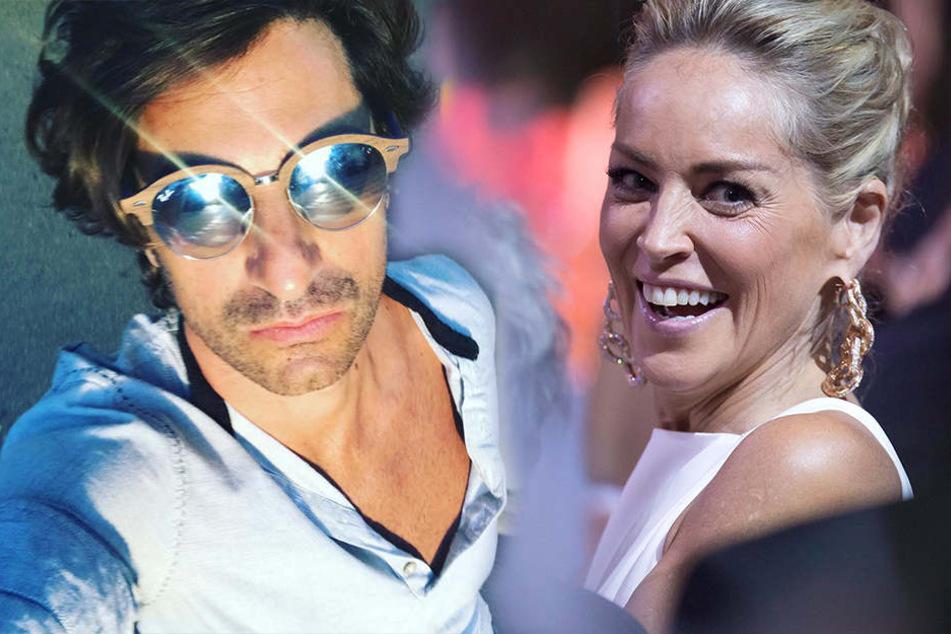Sharon Stone hat gut lachen: Mit Angelo Boffa hat sich die Schauspielerin einen echten Italo-Beau geangelt.