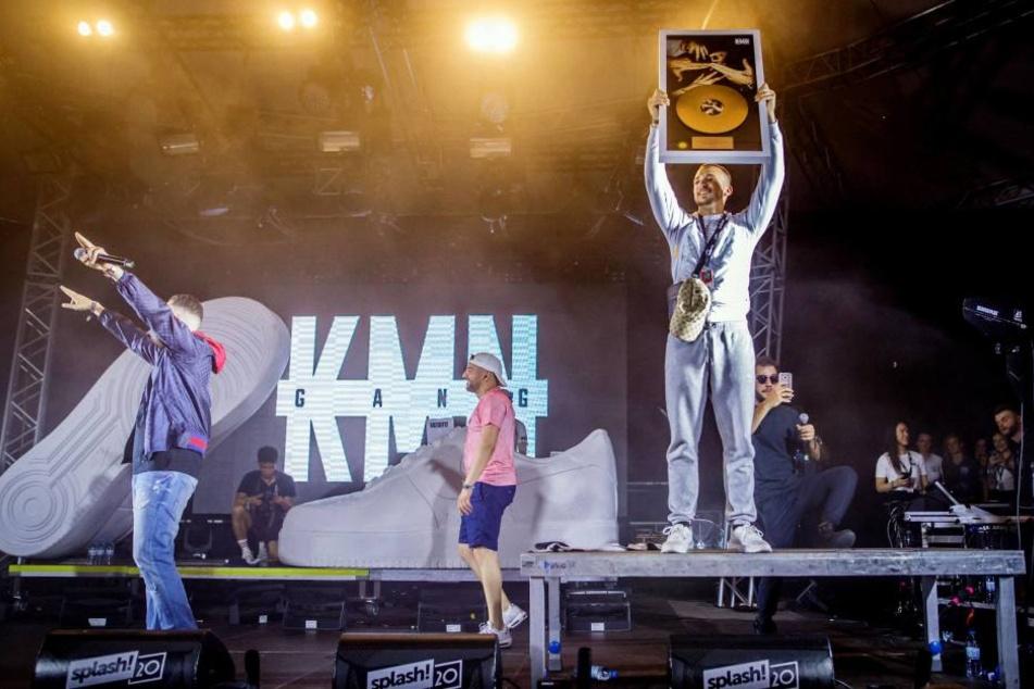 """Beim """"Splash""""-Festival gab die Gang das letzte Konzert mit ihrem inhaftierten Mitglied."""