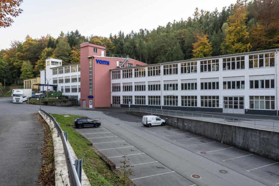 Steht trotz positiver Entwicklung vor dem Aus: das Werk des Nutzfahrzeugzulieferers Voith in Zschopau.