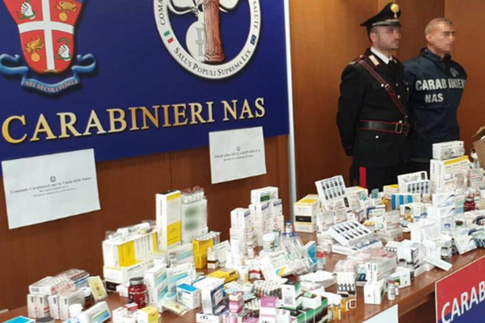 Doping-Fahnder schlagen bei Razzia zu: 234 Festnahmen, 9 Labore ausgehoben!