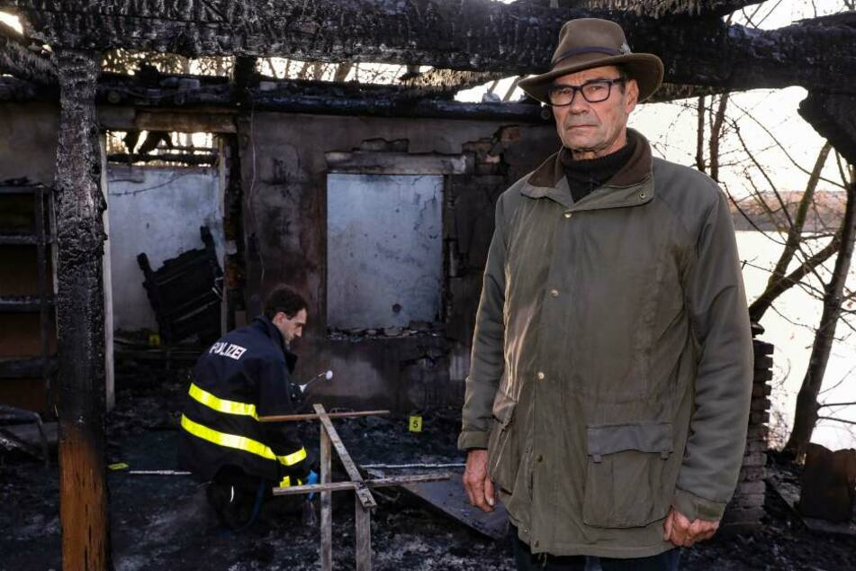 Grundstückseigentümer Jürgen Knobloch.