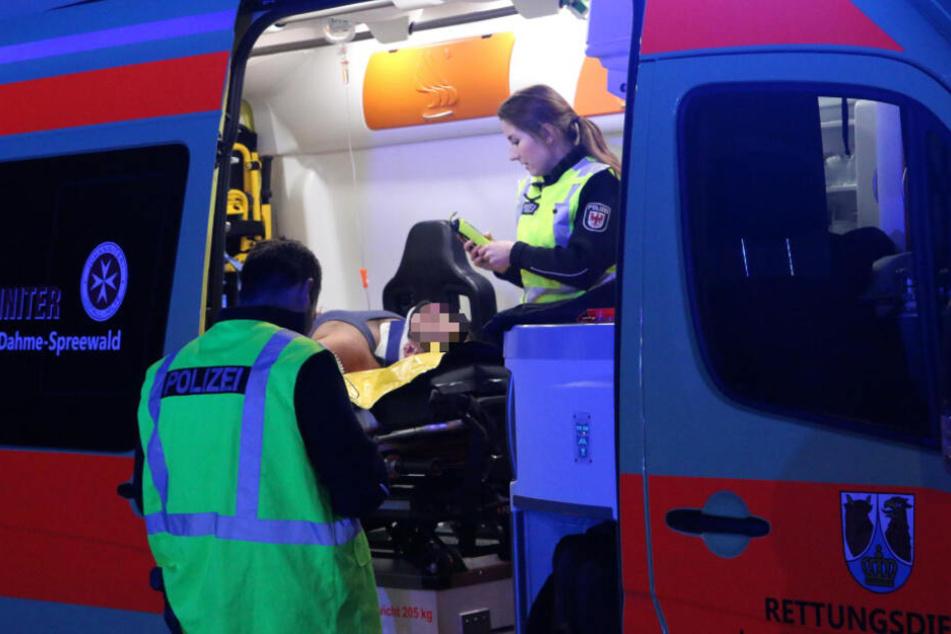 Sechs Menschen sind dabei verletzt worden.