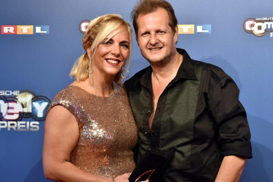 Daniela und Malle Jens im Oktober diesen Jahres. (Archivbild)