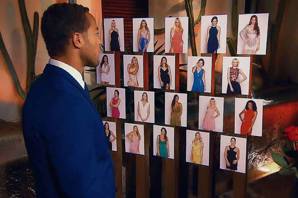 """Wer bleibt, wer muss gehen? Schon in der ersten Folge der neuen """"Bachelor""""-Staffel muss Andrej schwere Entscheidungen treffen."""