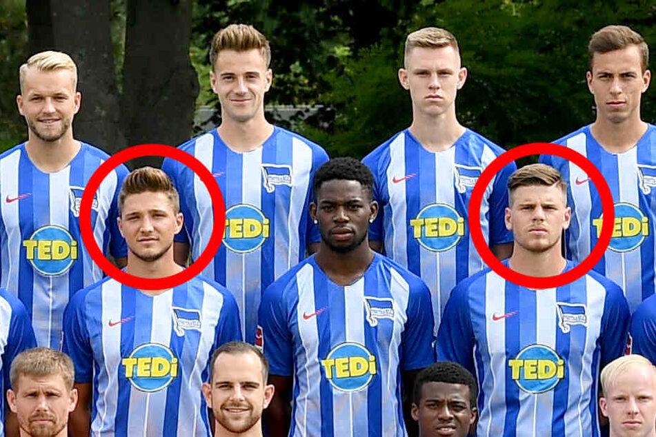 Möglicher Nachfolger: Florian Baak (r.) glänzt derzeit in der Youth-League mit guten Auftritten und könnte Niklas Starks (l.) Posten in der kommenden Saison einnehmen.