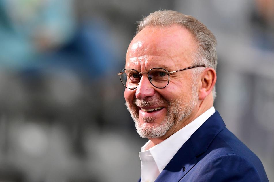 Karl-Heinz Rummenigge, Vorstandsvorsitzender der FC Bayern München AG.