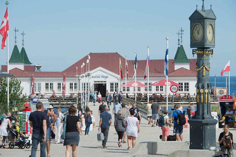 Immer wieder zieht es Berliner an die Königsbäder auf Usedam.