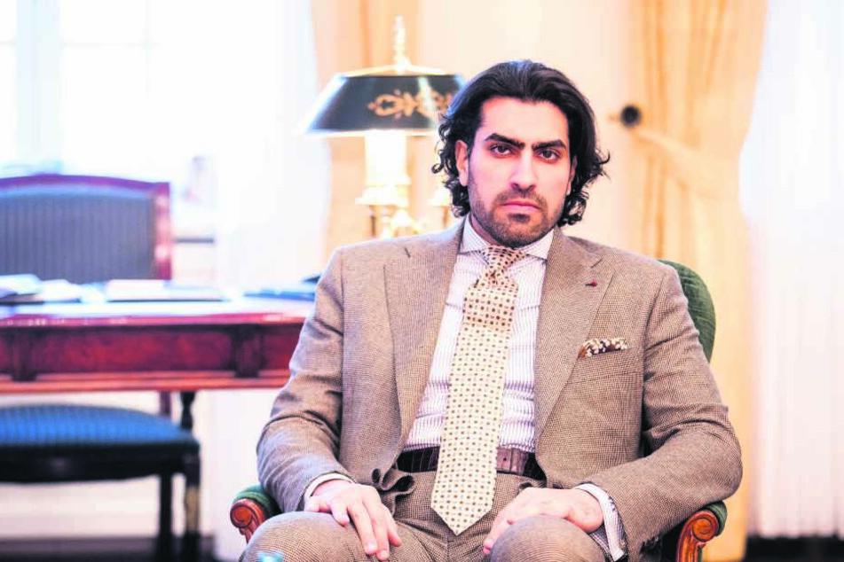 Preisträger Prinz Salman bin Abdulaziz bin Salman bin Muhammad al Saud (36)  aus dem saudi-arabischen Königshaus.