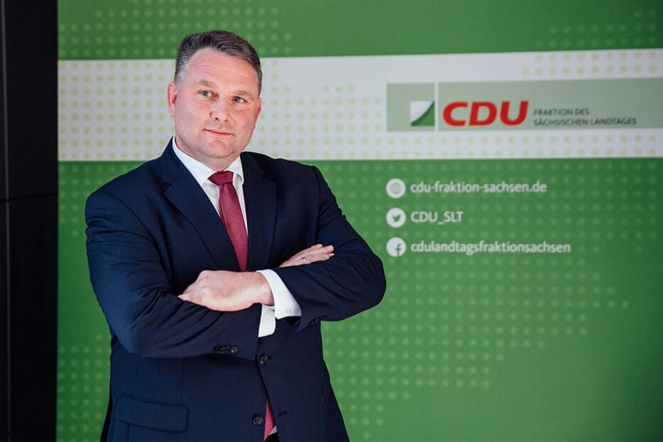 Schließt eine Koalition mit der AfD aus: Christian Hartmann (45, CDU).