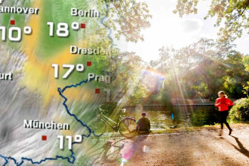 Berliner können sich am Dienstag über milde Temperaturen freuen.
