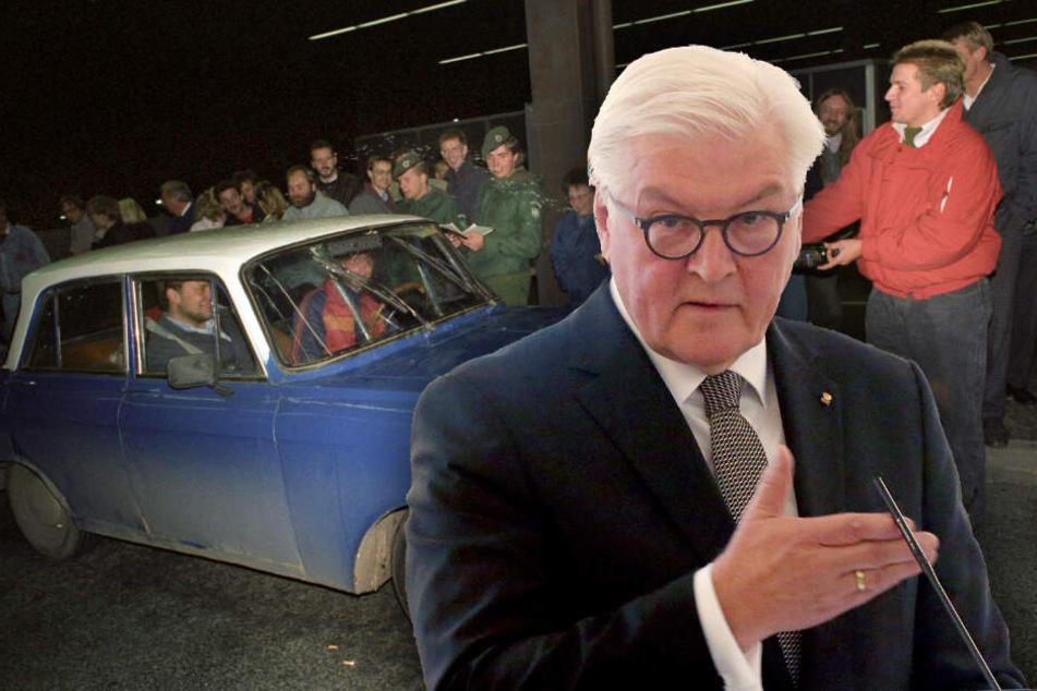 Steinmeier richtet lobende Worte an Ostdeutsche nach der Wende