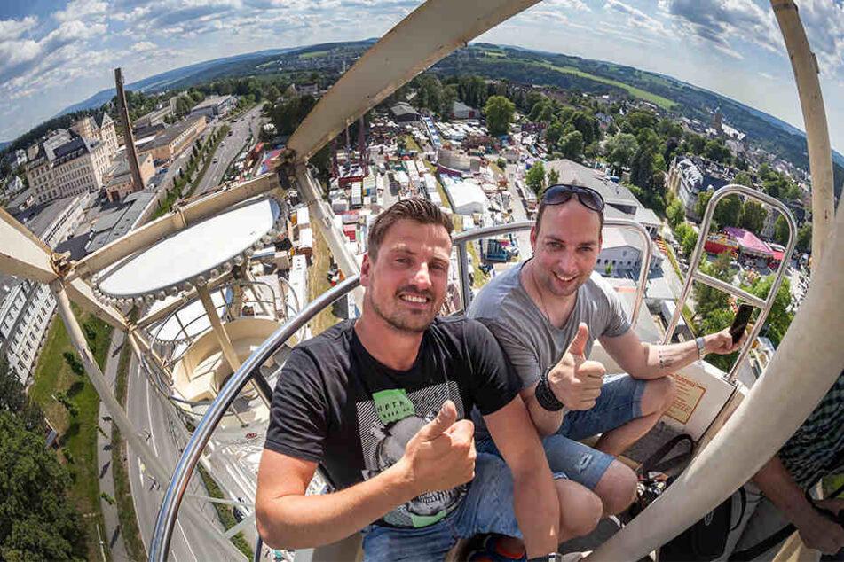 Das DJ-Duo Stereoact eröffnet die 498. Annaberger Kät.