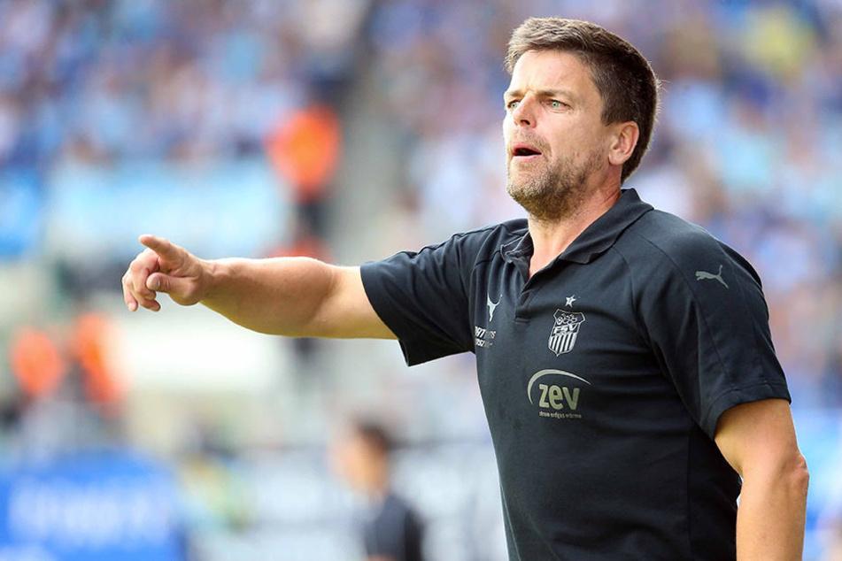 Nach der unnötigen Niederlage ein Chemnitz hat FSV-Trainer Torsten Ziegner fürs Spiel gegen Lotte seinen Konsequenzen gezogen.
