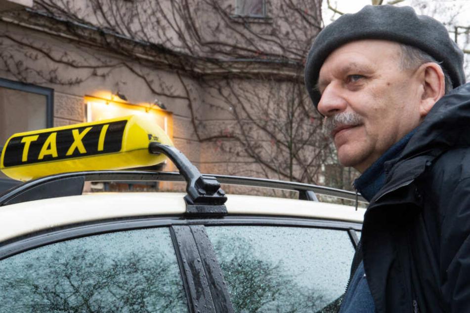Richard Leipold fährt auch selbst Taxi. Wie die Zukunft seines Berufes aussieht, das steht in den Sternen