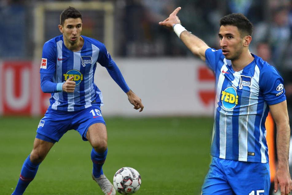 Spielstarker Taktgeber: Marko Grujic entwickelte sich in kürzester Zeit zum Leistungsträger der Hertha. (Bildmontage)