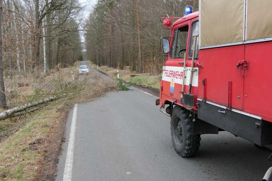 Auch nach Kössern rückte die Feuerwehr am Samstag aus.